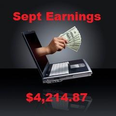 Monthly Earnings sept 2015