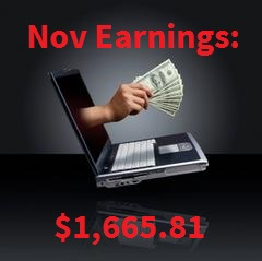 Monthly Earnings Nov 15