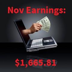Monthly Earnings Nov 15