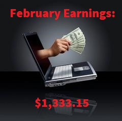 Monthly Earnings Feb 2016
